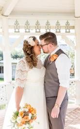Tea length a line wedding dress with sash dorris wedding Wedding dress sample sale vancouver 2018