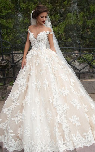wedding dress with trains long length trains bridals