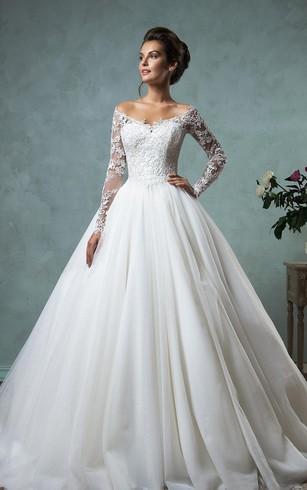 Sleeved Bridal Dresses