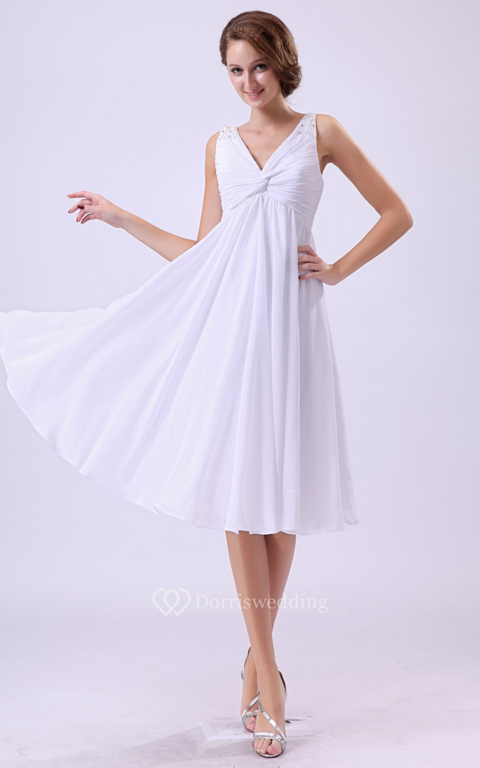 short maternity wedding dresses v neck empire maternity dress with ruching 7353