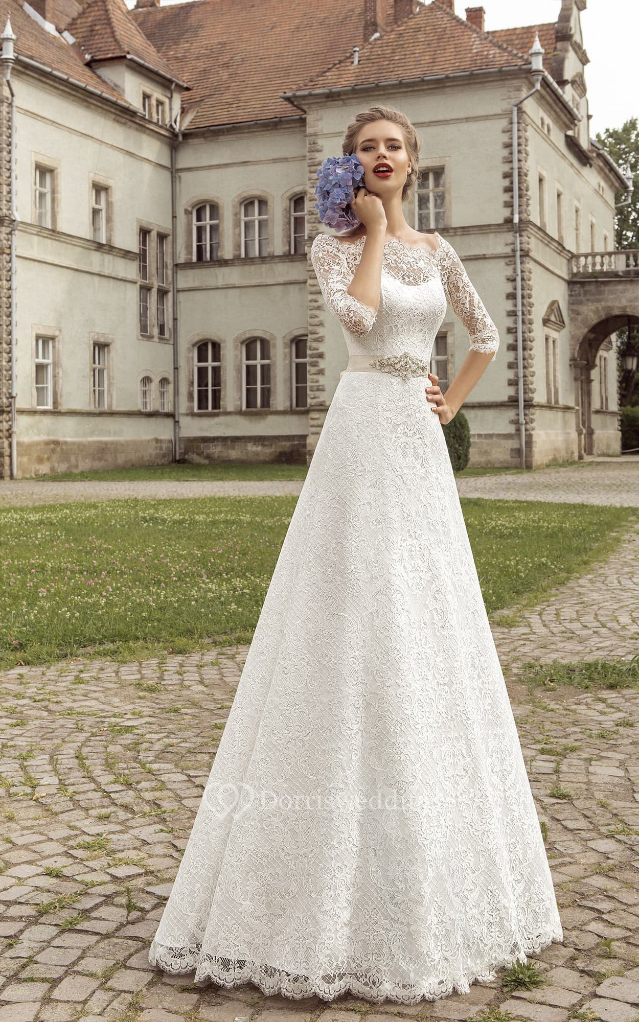 Knee High Petite Wedding Dresses