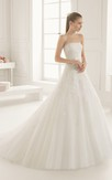Scalloped-Neck Gown With Short-Sleeved Cape And Slim Belt