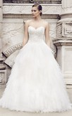 Long Sweetheart A-Ling Dress With Lace Bodice