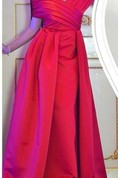 Elegant Off the Shoulder Long Prom Dress 2016 Floor Length Party Gowns