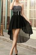 Stylish Sweetheart High-Low Prom Dress