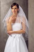 Elegant Tulle Two-tier Elbow Wedding Veil