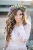Delicate Chiffon Lace Appliques Wedding Dress Long Sleeve