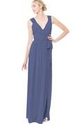 Sexy Sleeveless Long-Chiffon Dress With Split Front