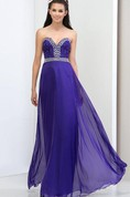 A-Line Sweetheart Beading Prom Dress