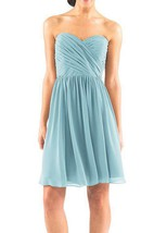 Criss-cross A-line Chiffon Bridesmaid Dress