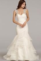 Stunning Sleeveless Ruched Flounced Dress With Beaded Embellished Keyhole Back