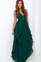 Sleeveless Chiffon Stylish Dress With Ruffles