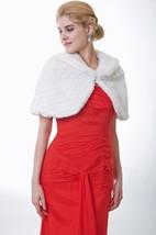 Charming Ivory Faux Fur Bridal Wrap