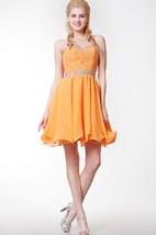 Classy Chic Beaded Sweetheart Short Layered Chiffon Homecoming Dress