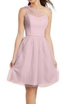 Illusion One Shoulder Chiffon A-line Bridesmaid Dress
