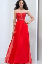 A-Line Sweetheart Beaded Zipper-Up Prom Dress