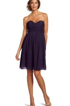 Sweetheart Mini Dress with Crisscrossed Ruched Bodice