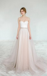 Blush Wedding Gown Dahlia 2 Pieces Dress