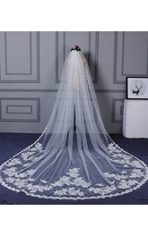 Wedding Dress New Bride Veil Super Long Wedding Veil With Lace