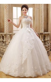 Lovely Sweetheart Ball Gown Wedding Dresses 2018 Lace Crystals