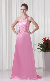 Captivating Sleeveless Brush Train Sheath Special Occasion Dresses