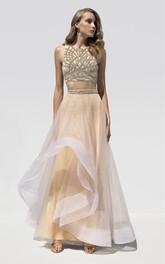 Elegant ruffles bodycon knee length high neck jersey dress for Frugal fannies wedding dresses