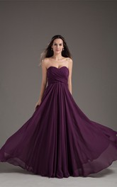 Magnificent Chiffon Satin Pleated Sleeveless Bridesmaid Dresses