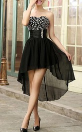 Stylish Sweetheart High-Low Prom Dress