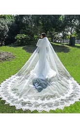 Long Tail Soft Yarn Bride Wedding Veil Super Fairy Wedding Dress