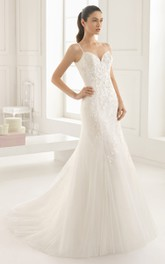 Sleeveless Backless Organza Dress With Appliques