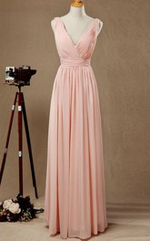 Floor-length Chiffon Dress