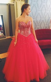 Newest Sequins Tulle Princess Wedding Dress 2018 Sweetheart Sleeveless