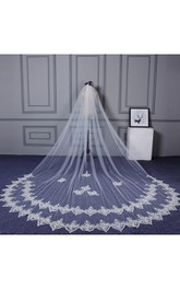 Veil New Arrival Super Long Bride Wedding Dress Delicate Lace Tail Romantic Long Veil