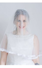 New Bride Wedding Veils With Lace For Travel Photography Soft Veil