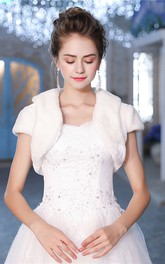 Bridal Wedding Shawl Winter Warm Self-Cultivation Vest