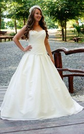 Elegant Sweetheart Chiffon Ball Gown With Crisscross Ruching