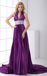 Brilliant Sleeveless Pleated Special Occasion Dresses