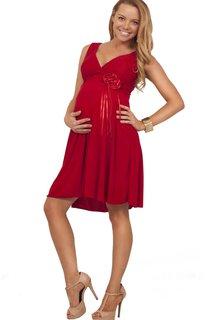 Sleeveless V-neck Short Knee-length Pleated Chiffon Dress
