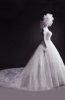Ball Gown Mermaid Tea-Length Sweetheart Beading Jacket Chiffon Tulle Lace Sequins Organza Satin Dress