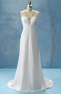 Sleeveless Scalloped Neckline Satin Dress With Ruching