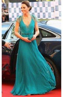 A-line Sleeveless Pleats V-neck Floor-Length Chiffon Dresses