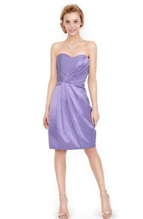 Lovely Sweetheart A-line Dress With Ruching