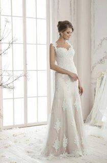 Sleeveless Floor-length Strapped And Sheath Dress