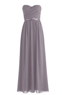Sweetheart Criss-cross Ruching Long Gown With Beading