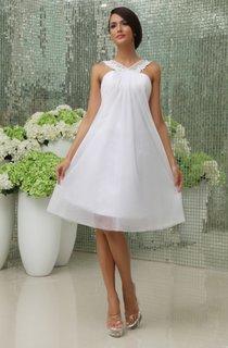 Cute Sleeveless Short Dress With Chiffon Overlay