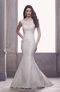 Mermaid Dress With Illusion Back And Lace Bodice
