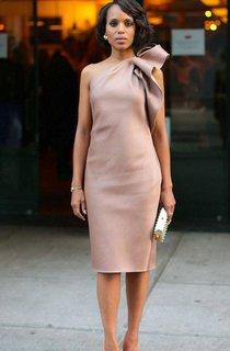 Elegant Short Satin Party Dresses With One Shoulder