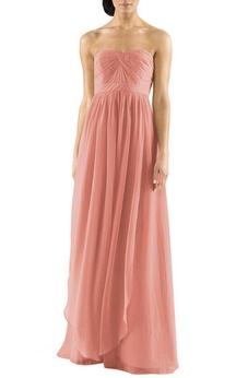 Convertible Chiffon Bridesmaid Dress with Ruching