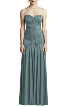 Ruched Sweetheart Chiffon Bridesmaid Dress