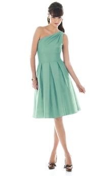 Magnificent A-Line Dress With Zipper Back